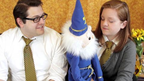 Embedded thumbnail for Meanwhile At Hufflepuff: Huffledore